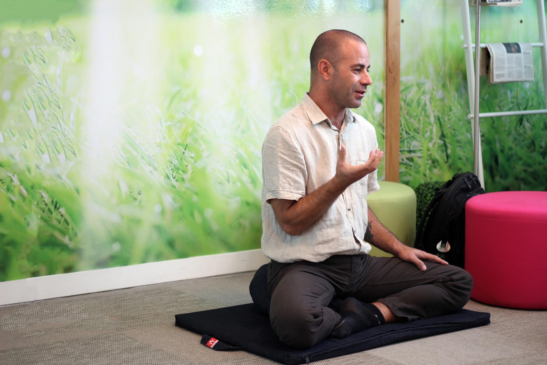 João Palma formador Mindfulness na PHC