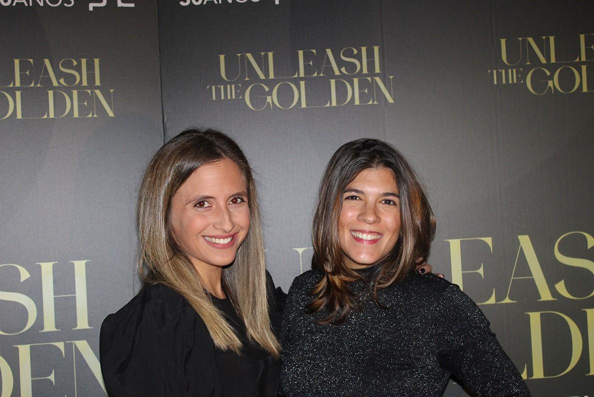 Mulheres de preto Unleash the golden