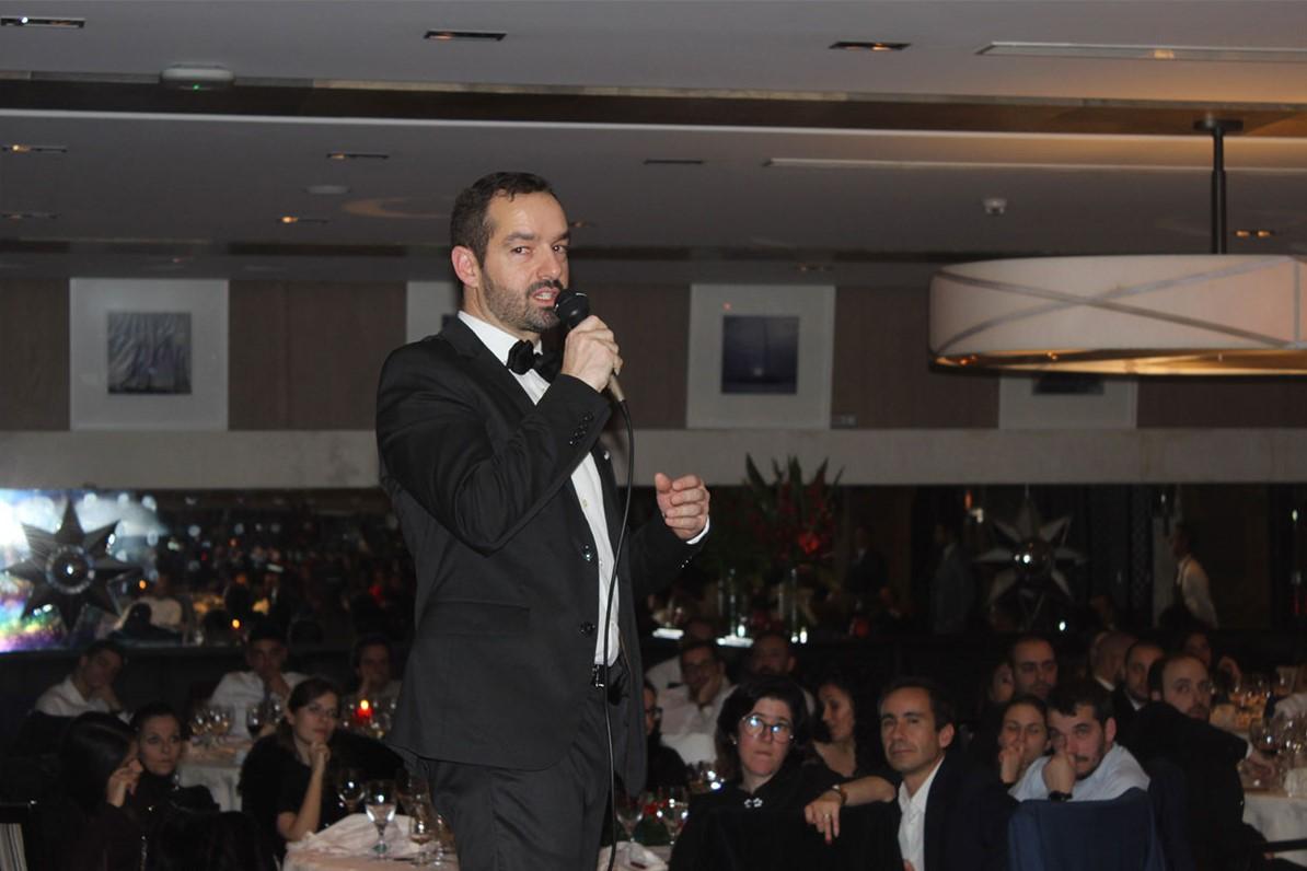 Luís Antunes Diretor de RH no jantar de natal da PHC